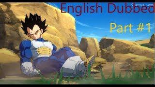 Dargon Ball Fighterz story cut scenes || English Dub || Part 1