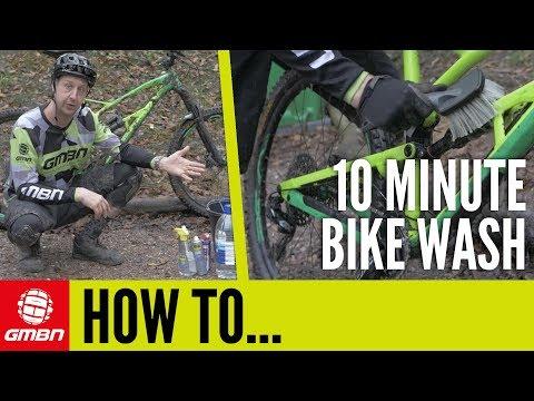 The 10 Minute Car Park Bike Wash | Mountain Bike Maintenance