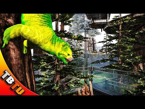 FULLY MUTATED THYLACOLEO AND ZOO ENCLOSURE! Ark Survival Evolved Zoo