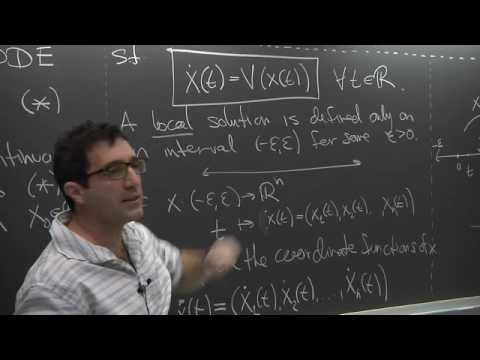 Dynamical Systems - Stefano Luzzatto - Lecture 01