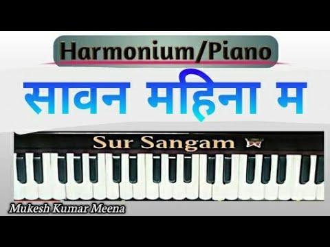 Sawan Mahina Ma Tula Yaad Karna Piano Tutorial By Nilesh