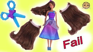 Hair Extension Fail ! Long Hair Princess Barbie Toy Play Mp3