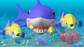 Download Baby Shark Song Challenge + More Nursery Rhymes & Kids Songs | Sharks Cartoon Mp3 and Videos