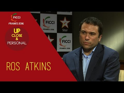 Up Close & Personal With Ros Atkins    FICCI Frames 2016