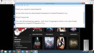 How to install Assassins Creed IV Black Flag Freedom Cry (TXCG)