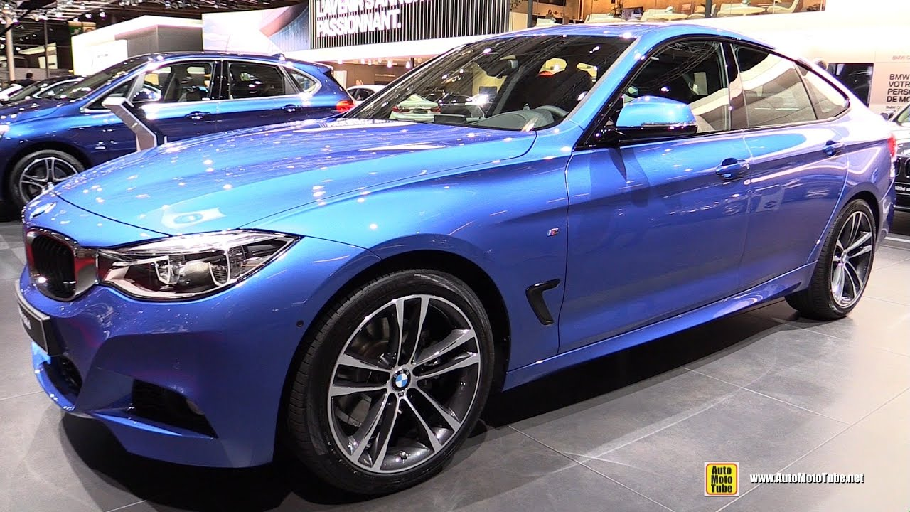 2017 bmw 330d gran turismo m sport exterior and interior for M and m motors