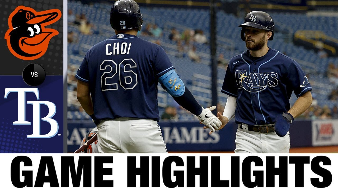 Download Orioles vs. Rays Game Highlights (8/19/21) | MLB Highlights