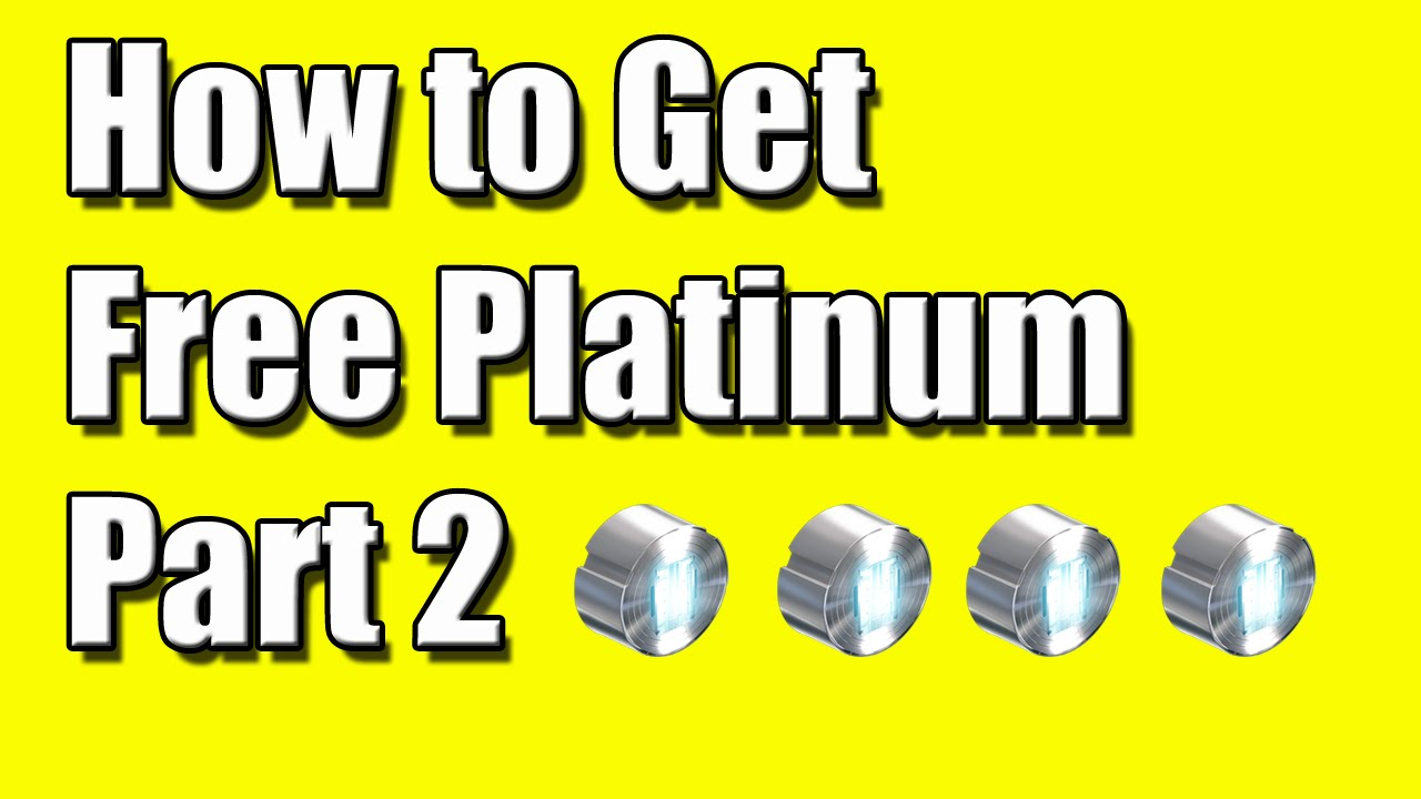Warframe PS4 How To Get Free Platinum Easy Part 2