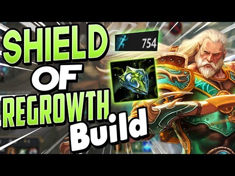 Smite: Shield of Regrowth Chiron Build - IS REGROWTH ACTUALLY VIABLE?