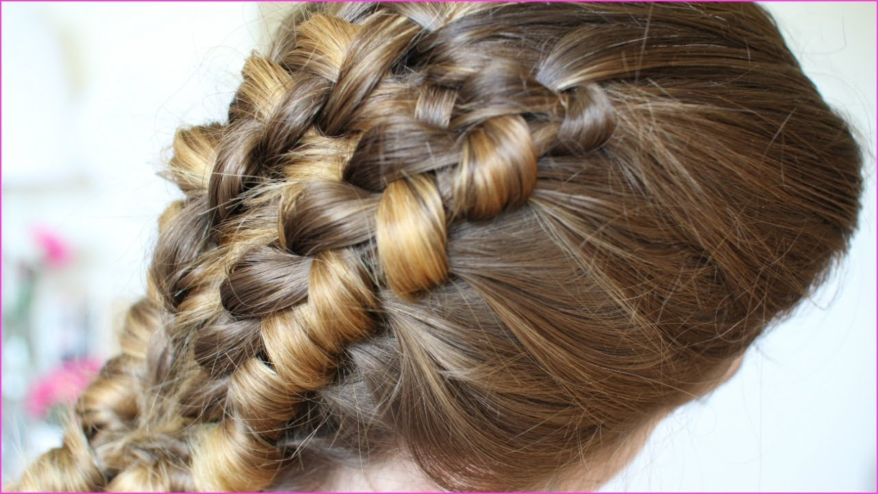 Looks - Staircase Chinese braid tutorial video