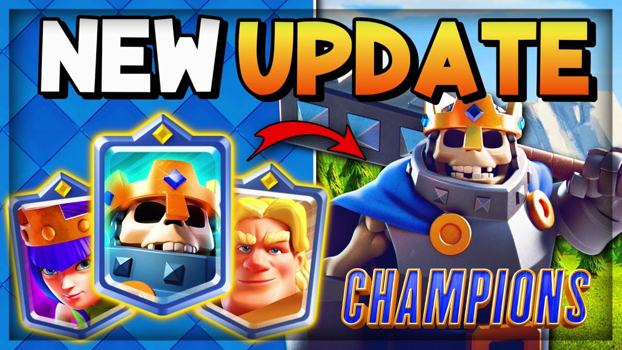 Download NEW UPDATE CLASH ROYALE! CHAMPIONS CLASH ROYALE 2021!!
