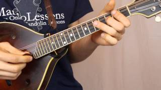 The Glasgow Reel (Tam Lin) (With Tabs & Play Along Tracks) - Mandolin Lesson