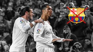 El Clasico: Cristiano Ronaldo destroying Barcelona |HD|