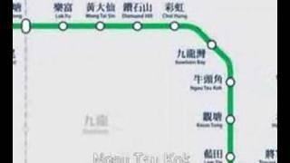 地鐵各站名歌 MTR Song MV