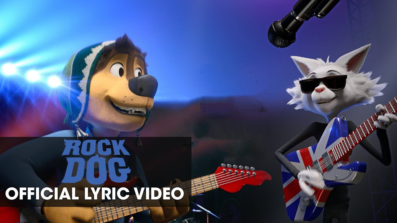 "Rock Dog (2017 Movie) – Official Lyric Video ""Glorious"" by Adam Friedman"