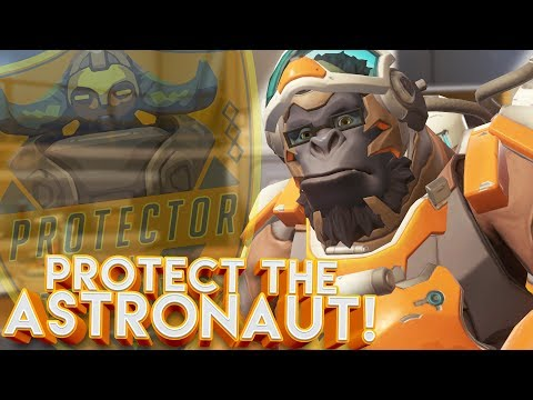 OVERWATCH PROTECT THE ASTRONAUT CUSTOM GAMEMODE!