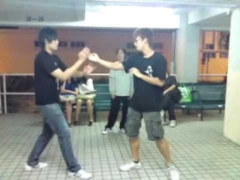 Wing Chun Kung Fu - Basic Sticking Hands Lesson By Alain Law,1