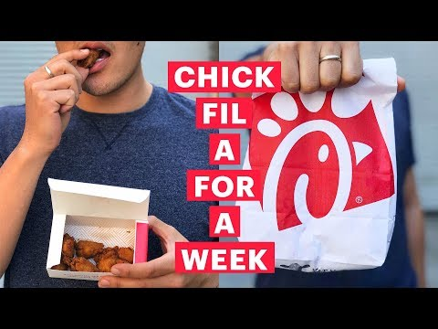I Only Ate At Chick-fil-A For A Week (Vertical Video)