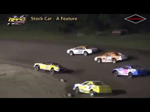 B-Modified/Stock Car Features - Rapid Speedway - 7/6/18