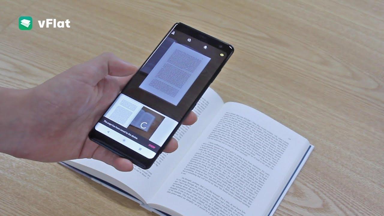 En İyi Mobil Tarama Uygulaması - Belge ve Kitap Taramak Artık Çok Kolay - vFlat Scan