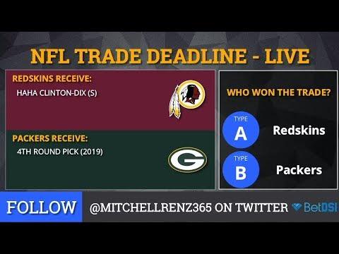 NFL Trade Deadline: Grades For Demaryius Thomas, HaHa Clinton-Dix, Golden Tate & Dante Fowler Trade