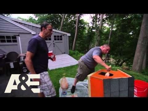 Johnny Drama and Nacho Build a Doghouse Part 2 | A&E