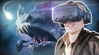 SCARY UNDERWATER EXPERIENCE WITH SHARKS & DINOSAURS! | G2A Land VR (HTC Vive Gameplay)