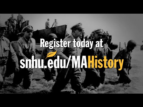 Online Master's in History Degree: See Yourself Succeed at SNHU