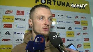 Martin Nešpor po utkání s týmem 1. FC Slovácko