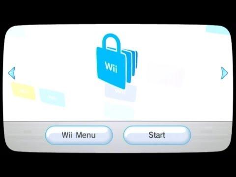 🛒 Nintendo Wii U - Wii Menu: Shop Channel, Cave Story
