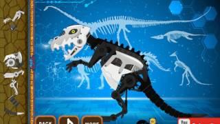 Мультик игра Роботы динозавры: Конструктор (Dinosaur Robot Toys)