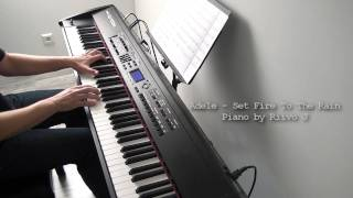 Adele - Set Fire To The Rain (Piano Cover)