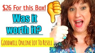 """Unboxing Thrift Haul  """"Shop Goodwill"""" Men's Clothing LOT to Resell Online Ebay Poshmark Mystery Box"""