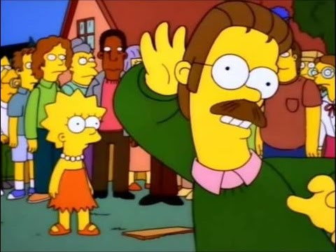 Ned Flanders Flips out