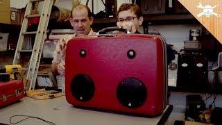 Build A Custom Suitcase Boom Box!