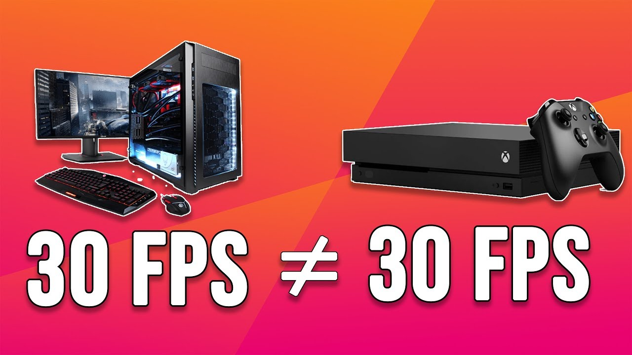 Why 30 FPS on Console feels smoother and better than 30 FPS on PC