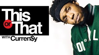 "Curren$y Plays ""This Or That"" 