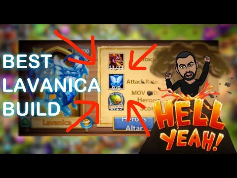 9/9 Revive Lavanica Is OP Castle Clash