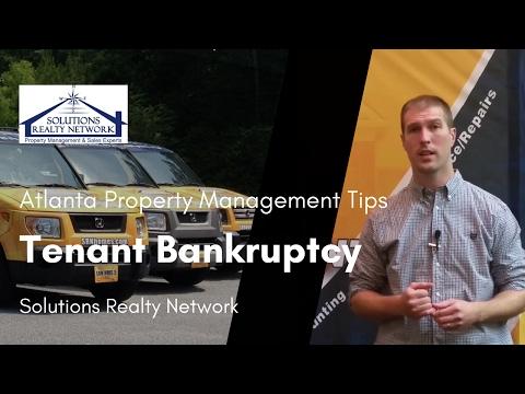 Tenant Bankruptcy: Atlanta Property Management Tips for Landlords