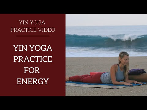 Yin Yoga Practice for Kidney Energy
