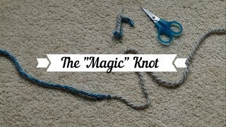 Magic Knot for Loom Knitters
