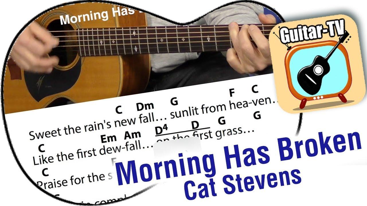 211 Morning Has Broken Cat Stevens Cover Lyrics Chords