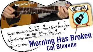 211 Morning Has Broken   Cat Stevens  Cover  Lyrics  Chords  Tutorial  Gitarre lernen