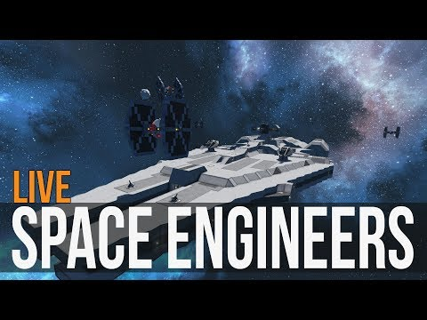 Space Engineers - Deep Space Exploration (Mod all the Things) Sunday! Ep4