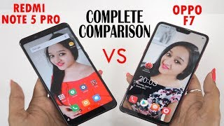 Redmi Note 5 Pro VS Oppo F7 Complete Comparison