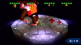 Donkey Kong 64 - Four-Player Battle Arena (Actual N64 Capture)