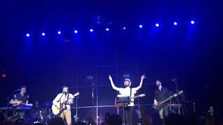 AJR- the bridge & ending of Sober Up w/ Rivers Cuomo (live) 3/20/18