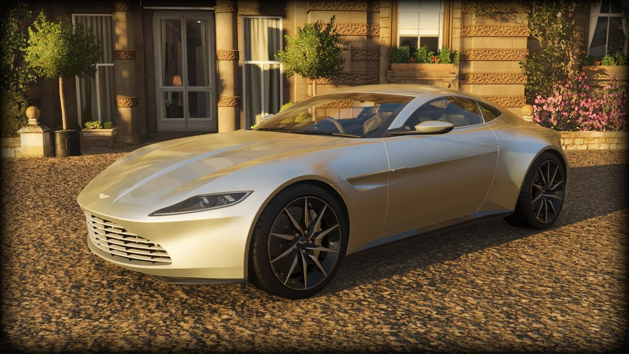 Forza Horizon 4 2015 Aston Martin Db10 007 Version Youtube