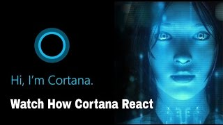 Cortana Answering Tricky Questions On Windows 10 | Tech Vision