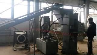Станок для производства кирпича(Данная линия по производству кирпича установлена компанией